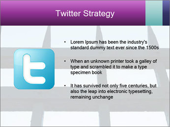 Iron fence. PowerPoint Templates - Slide 9