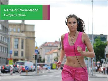 Runner PowerPoint Template - Slide 1