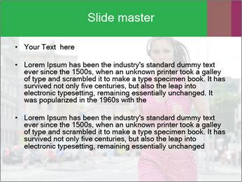 Runner PowerPoint Template - Slide 2