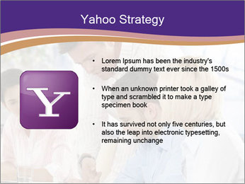 Young businesspeople PowerPoint Template - Slide 11