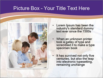 Young businesspeople PowerPoint Template - Slide 13