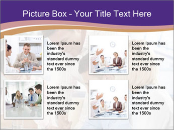 Young businesspeople PowerPoint Template - Slide 14