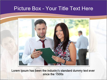 Young businesspeople PowerPoint Template - Slide 15