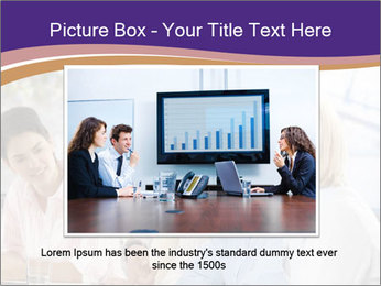 Young businesspeople PowerPoint Template - Slide 16