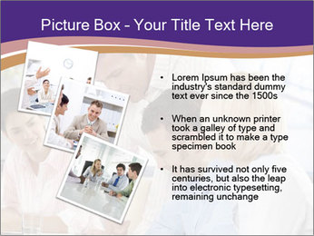 Young businesspeople PowerPoint Template - Slide 17