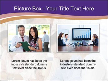Young businesspeople PowerPoint Template - Slide 18