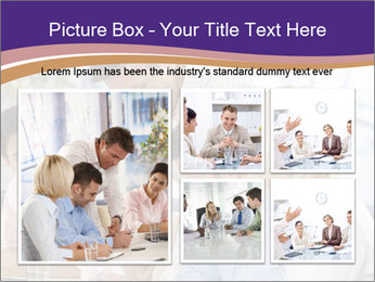 Young businesspeople PowerPoint Template - Slide 19