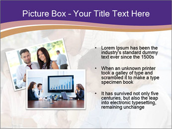 Young businesspeople PowerPoint Template - Slide 20