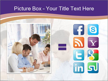 Young businesspeople PowerPoint Template - Slide 21