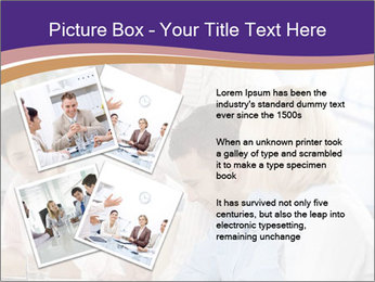 Young businesspeople PowerPoint Template - Slide 23
