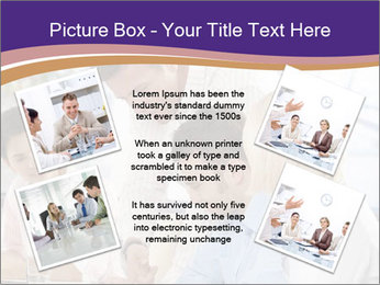 Young businesspeople PowerPoint Template - Slide 24