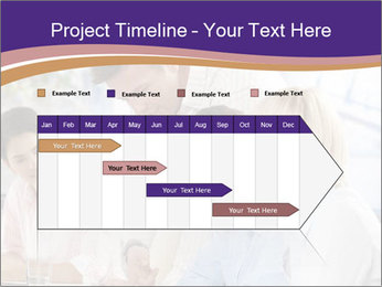 Young businesspeople PowerPoint Templates - Slide 25