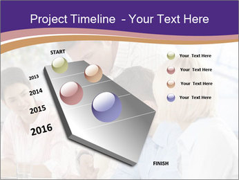 Young businesspeople PowerPoint Templates - Slide 26