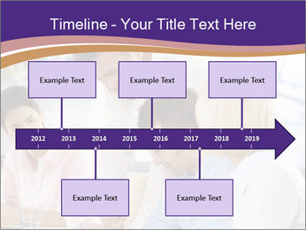 Young businesspeople PowerPoint Templates - Slide 28
