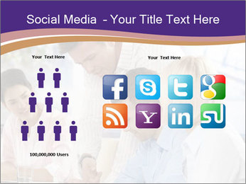 Young businesspeople PowerPoint Templates - Slide 5