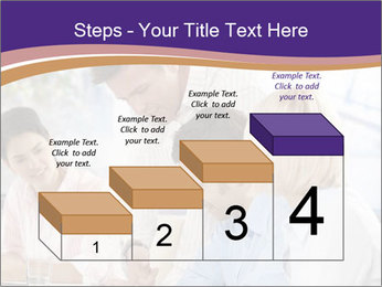 Young businesspeople PowerPoint Templates - Slide 64