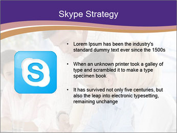 Young businesspeople PowerPoint Template - Slide 8
