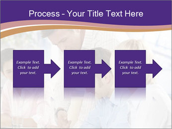 Young businesspeople PowerPoint Templates - Slide 88