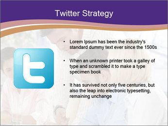 Young businesspeople PowerPoint Template - Slide 9