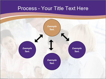 Young businesspeople PowerPoint Templates - Slide 91