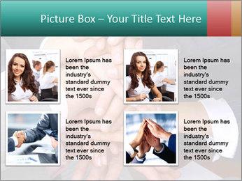 Teamwork PowerPoint Template - Slide 14