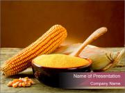 Maize flour PowerPoint Template