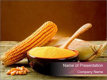 Maize flour PowerPoint Template - Slide 1