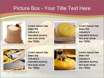 Maize flour PowerPoint Template - Slide 14