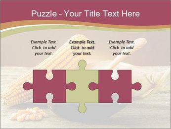 Maize flour PowerPoint Template - Slide 42