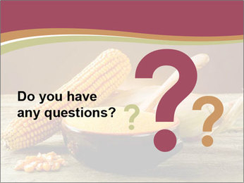 Maize flour PowerPoint Template - Slide 96