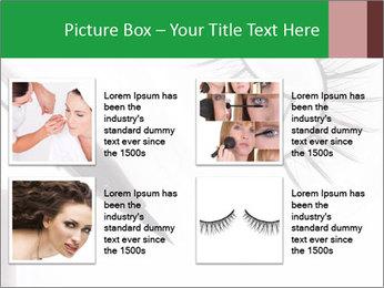 Set of eyelashes PowerPoint Template - Slide 14