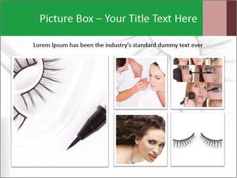 Set of eyelashes PowerPoint Template - Slide 19