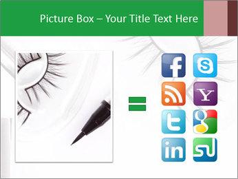 Set of eyelashes PowerPoint Template - Slide 21