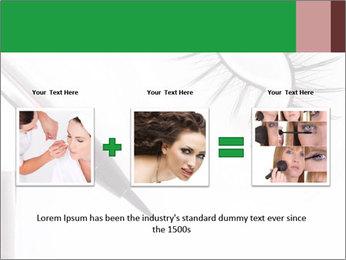 Set of eyelashes PowerPoint Template - Slide 22