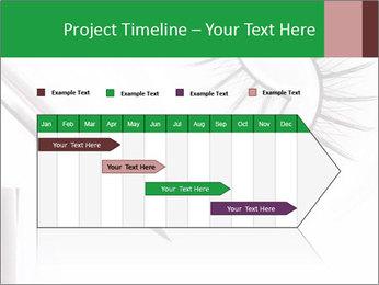 Set of eyelashes PowerPoint Template - Slide 25