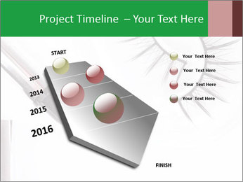 Set of eyelashes PowerPoint Template - Slide 26