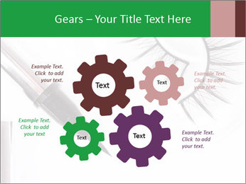 Set of eyelashes PowerPoint Template - Slide 47