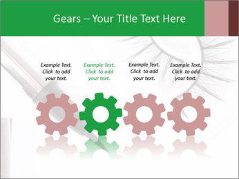 Set of eyelashes PowerPoint Template - Slide 48