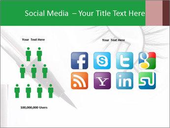 Set of eyelashes PowerPoint Template - Slide 5