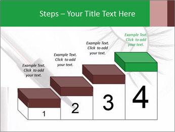 Set of eyelashes PowerPoint Template - Slide 64