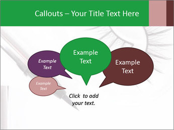 Set of eyelashes PowerPoint Template - Slide 73
