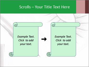 Set of eyelashes PowerPoint Template - Slide 74