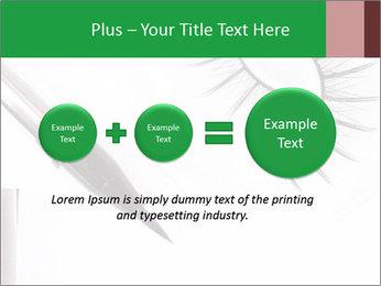 Set of eyelashes PowerPoint Template - Slide 75