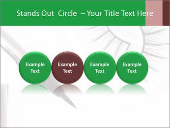 Set of eyelashes PowerPoint Template - Slide 76