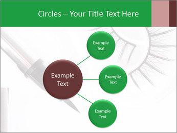 Set of eyelashes PowerPoint Template - Slide 79