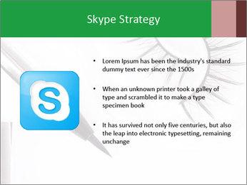 Set of eyelashes PowerPoint Template - Slide 8