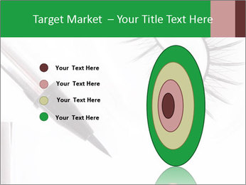 Set of eyelashes PowerPoint Template - Slide 84