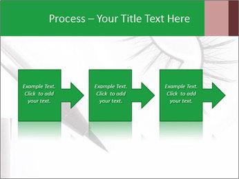 Set of eyelashes PowerPoint Template - Slide 88