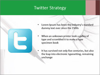 Set of eyelashes PowerPoint Template - Slide 9