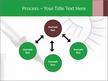 Set of eyelashes PowerPoint Template - Slide 91